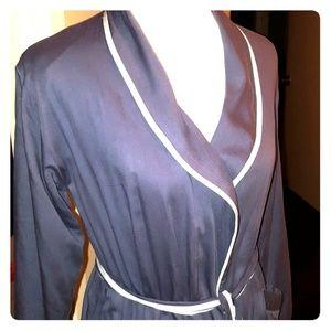Soma Grey-Blue Jersey Robe